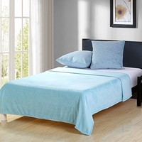 Intelligent Design Adel Comforter Set Aqua TwinTwin XL