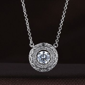 Beauty of Eyes Swarovski Crystal Necklace