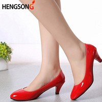 Hot Sale Fashion Nude hallSow Mouth Sexy Fashion Women Shoes Office High Heels Casual Shoes for Elegant Ladies Female TR913388