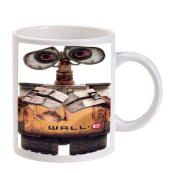 Gift Mugs | Wall E Robot Disney Pixar Ceramic Coffee Mugs