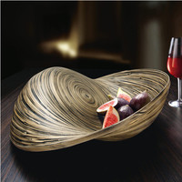 "Striped Bowl ""Bamboo"" - Modern art? Extravagant dish? This giant bamboo bowl is both. - Pro-Idee Concept Store - new ideas from around the world"