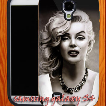 Marilyn-Monroe-Black-White-Portrait iphone 5/ iphone 4/ iphone 4S covers case-samsung galaxy s2/ s3/ s4 case-A24062013-10