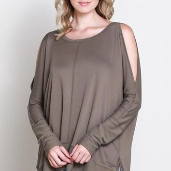 Kenzie Cold Shoulder Tunic