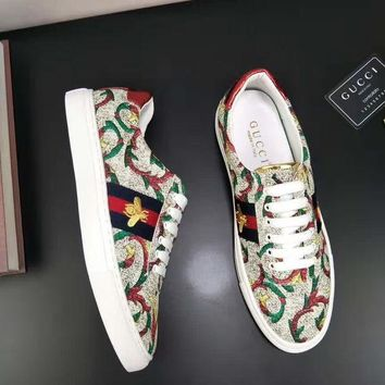 Gucci:Trending Fashion Casual Sports Shoes men and women