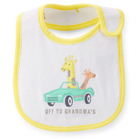 Giraffe Reversible Teething Bib