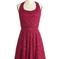 Mulled Wine Party Dress