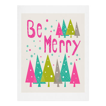 Heather Dutton Be Merry Art Print