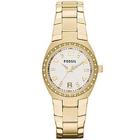 Fossil Serena 3-Hand Goldtone Watch