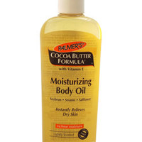 Cocoa Butter Formula with Vitamin E Moisturizing Body Oil Oil Palmer's