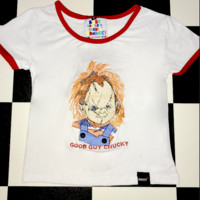 SWEET LORD O'MIGHTY! GOOD GUY CHUCKY RINGER TEE
