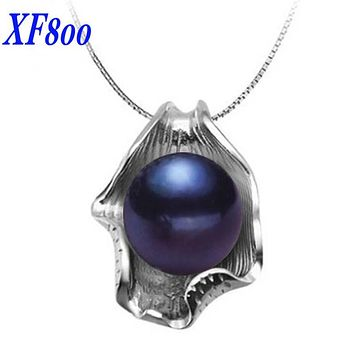 [xf800] big natural freshwater pearl pendants,natural stone pearl jewelry necklaces pendant,fine jewelry for womenP008