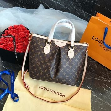 LV Classic handbag single shoulder bag