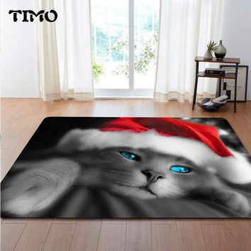 Autumn Fall welcome door mat doormat TIMO Carpet Kitchen Grumpy Cat Funny Bathroom Bedroom  Floor Mat For Living Room Anti-Slip s Indoor Outdoor Rug AT_76_7