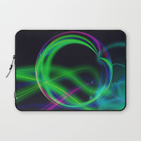 Ball O Neon Laptop Sleeve by minx267