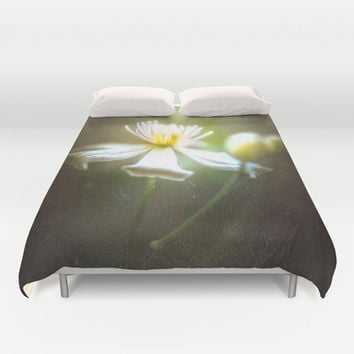 She once cried Duvet Cover by HappyMelvin