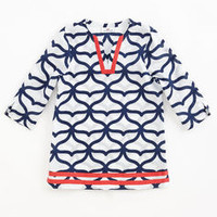 Girl's Cover Ups for Summer:  Whale Tail Tunic for Girls