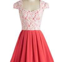 Chi Chi London Mid-length Cap Sleeves Fit & Flare Loganberry Beautiful Dress in Pink
