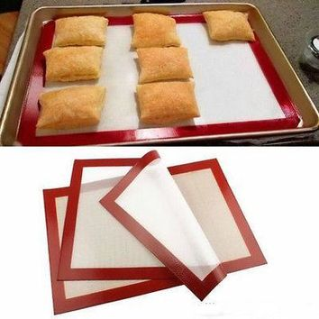 Silicone Liner Mat Pastry Bakeware Baking Tray Liner Oven Dough Rolling Silpat