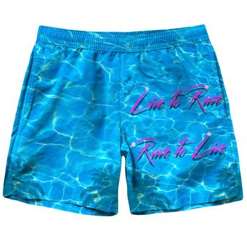 Live To Rave Shorts