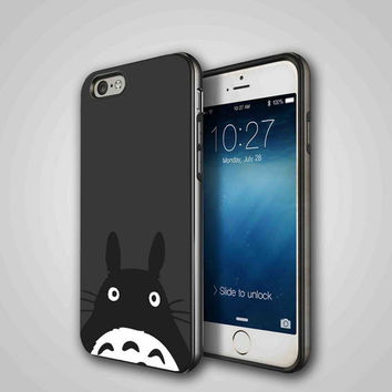 totoro, iPhone 4/4S, 5/5S, 5C Series Hard Plastic Case