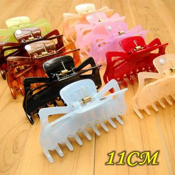 Large Hair Clamps Acetate Hair Crab Clamp Claw Clip Big Barrette Crab Hair Claws for Women Accessories Jaw Clips Hairpins