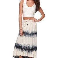 Rip Curl Tour Maxi Skirt - Womens Skirt - Gray - Medium