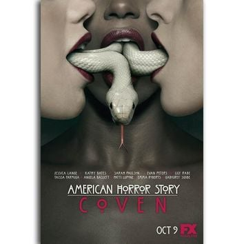 S75 American Horror Story Classic TV Series Season 3 Wall Art Painting Print On Silk Canvas Poster Home Decoration