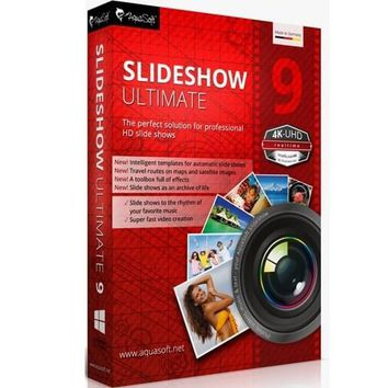 AquaSoft SlideShow Ultimate 9 Serial Number + Crack Full