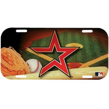 Houston Astros - Field High Def Acrylic License Plate