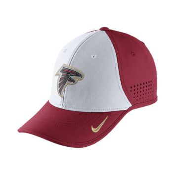 Nike True Vapor (NFL Falcons) Adjustable Hat (Red)