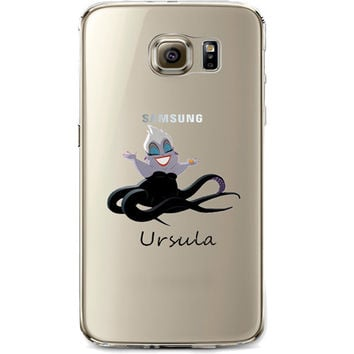 Disney's Villains (Ursula) Jelly Clear Case for Samsung Galaxy S7