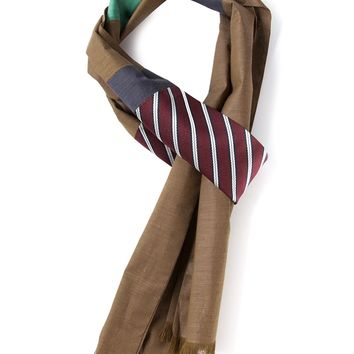 Lanvin Colour Block Scarf