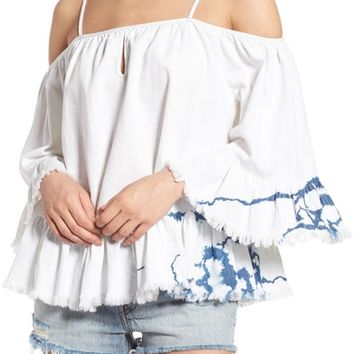 BLANKNYC Off the Shoulder Shirt | Nordstrom