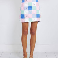 Women's Skirts: Patchwork Margo Skirt for Women - Vineyard Vines