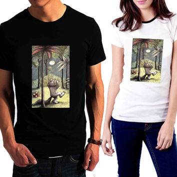 Where the Wild Things Are art - Tshirt for man shirt, woman shirt XS / S / M / L / XL / 2XL / 3XL /4XL / 5XL *02*