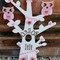 Large freestanding Personalised Tree - Scratchy Cat Crafts