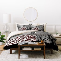 Amy Smith Lost In The Woods Duvet Cover