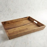 Napa Wood Tray