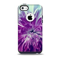The Vivid Purple Flower Skin for the iPhone 5c OtterBox Commuter Case