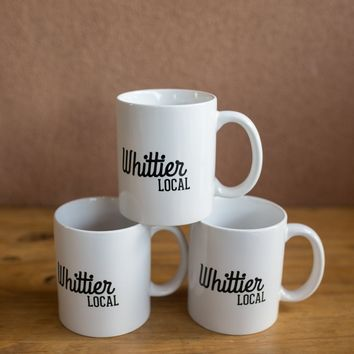 WHITTIER LOCAL MUG