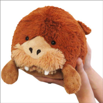 Mini Squishable Walrus: An Adorable Fuzzy Plush to Snurfle and Squeeze!