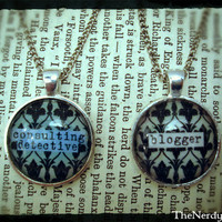 BBC Sherlock Inspired Friendship Pendants