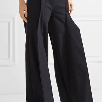 Jacquemus - Wool-blend wide-leg pants