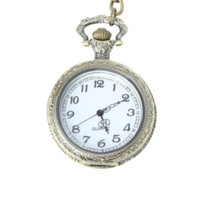 Burnished Gold Pocket Watch