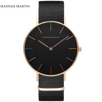 Hannah Martin Wrist Watch Men Watch Top Brand Luxury Men's Watch Fashion Watches Clock erkek kol saati relojes para hombre reloj