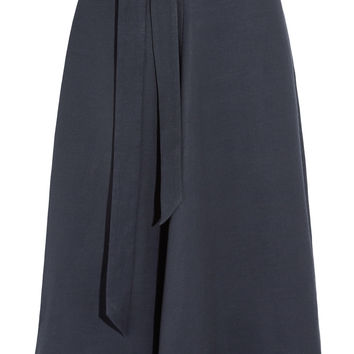 Iris and Ink Marissa piqué midi skirt – 0% at THE OUTNET.COM