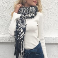 Sophie Chunky Knit Scarf