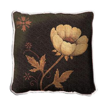 Fine Art Tapestries Home Decorative Peony Fresco Cotton Pillow