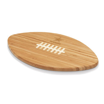 Dallas Cowboys - Touchdown! Football Cutting Board & Serving Tray
