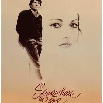 Somewhere in Time Christopher Reeve Movie Poster 11x17